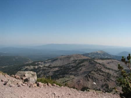 View half way up Lassen