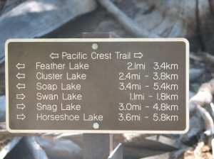 Got on the Pacific Crest Trail!