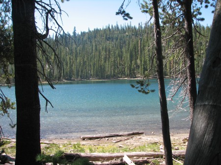 One of the Twin Lakes