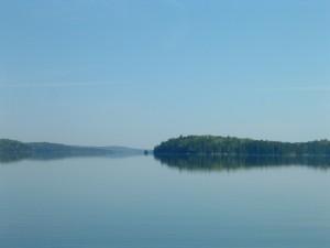 Big Water...vast sweep of Agnes Lake.