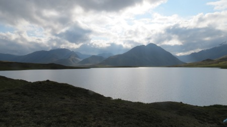 Summit Lake, Gates of the Arctic NP, on the continental divide (1200 m)