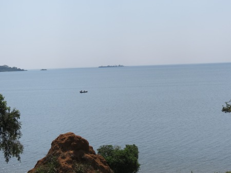 Lake Victoria from the Botanical Gardens