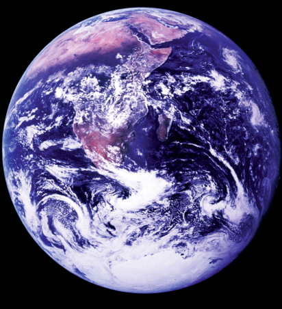 7  December 1972 shot of the Earth.