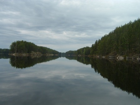 Kawnipi Lake, 2005.  The most beautiful lake in the Quetico to many people. I have been there six times.  That matters.