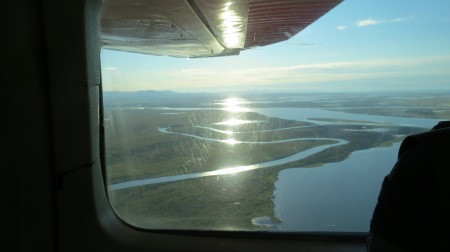 Noatak Delta in the morning.