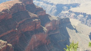 The Abyss, Grand Canyon, 2012.  Tonto Platform is to the right.