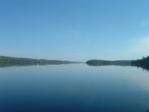 Agnes Lake, Quetico Provincial Park, 2005.