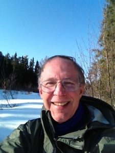 Author on the Angleworm Bridge, late April 2013, BWCA Wilderness