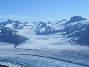 Glaciers in the Chugach.