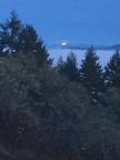 Moonrise from Mt. Pisgah